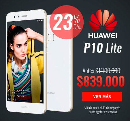 CELULAR HUAWEI P10 LITE DESCUENTO COLOMBIA