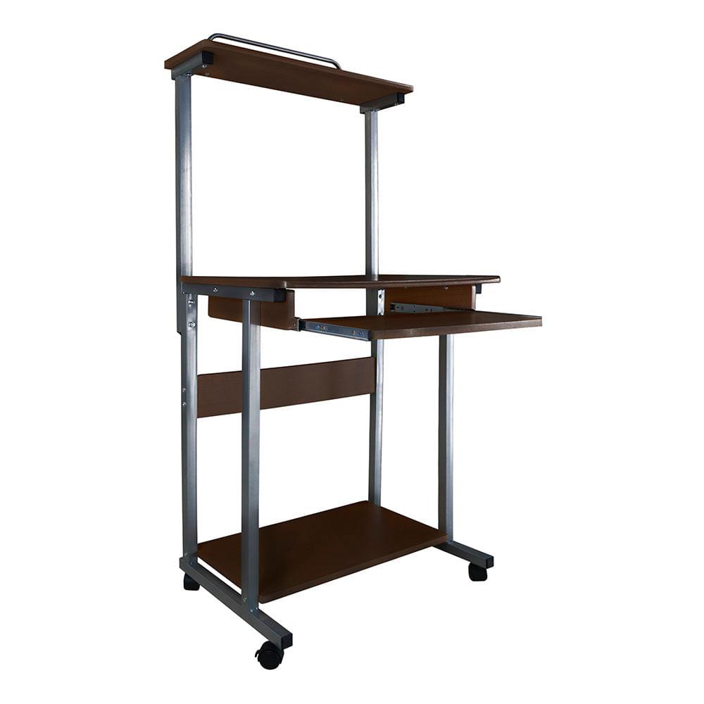 Mesa para pc star tec st cd 673 madera oscuro teknopolis for Ordenadores de mesa precios