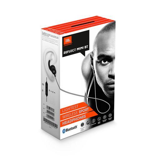 Audifonos JBL Reflect Negro Mini Bluetooth