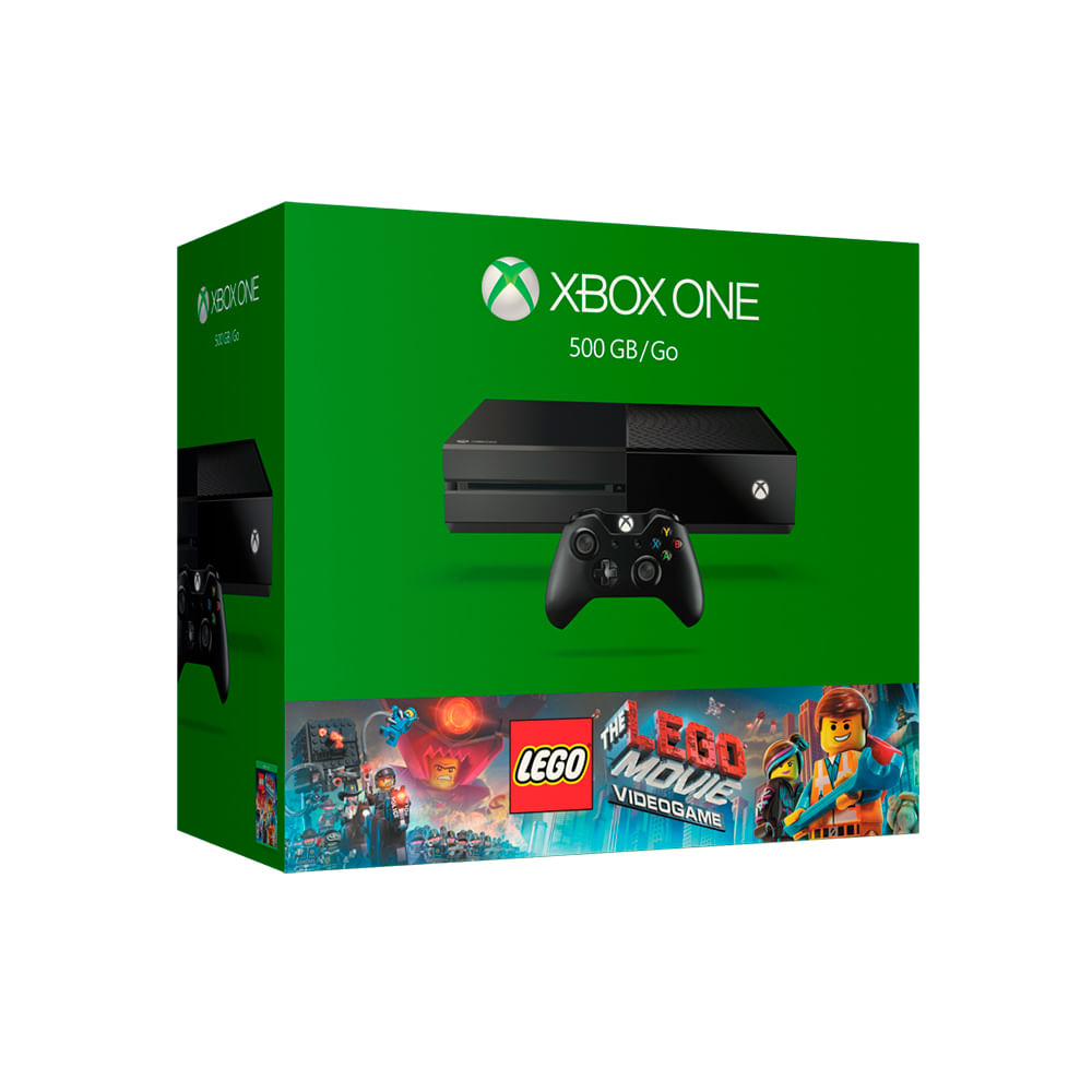 Consola Xbox One 500gb Juego Lego The Movie Teknopolis # Muebles Para El Xbox