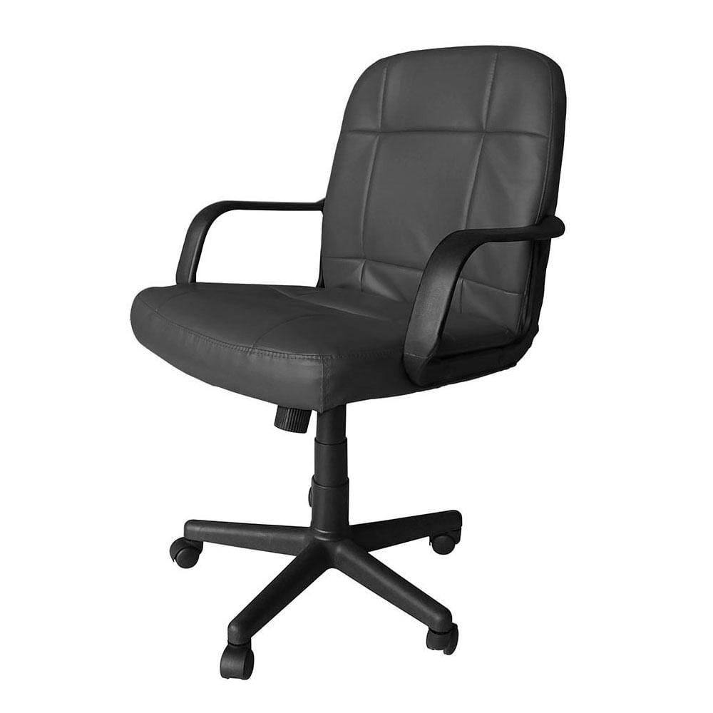Silla para escritorio star tec st se 03 negro teknopolis for Precio silla escritorio