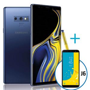 Samsung-Galaxy-Note-9-Azul---J6-Negro-32-Gb