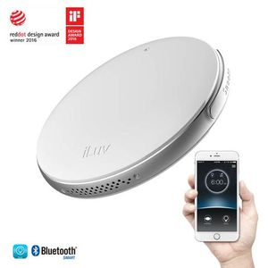 Alarma-Inteligente-Bluetooth-iLuv-SmartShaker2--Blanco