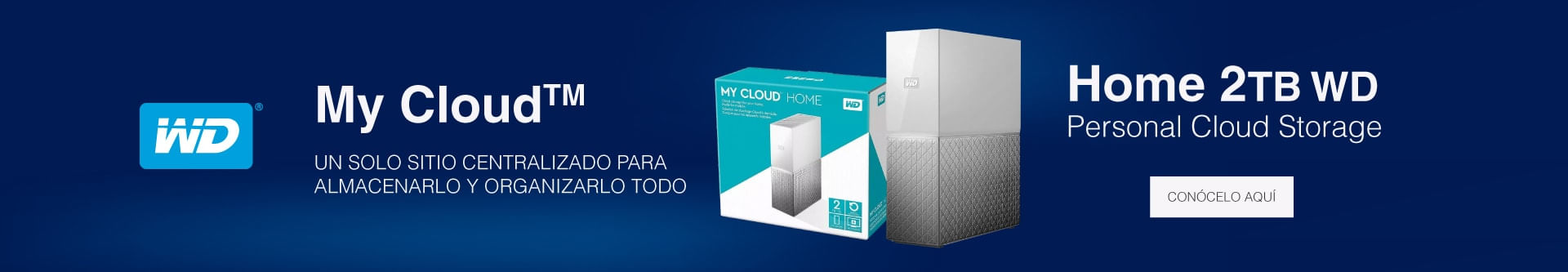My Cloud Home 2TB WD Personal Cloud Storage