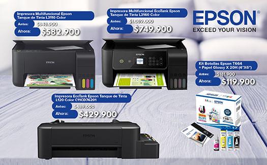 Impresoras-Epson