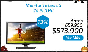 Monitor Tv Led LG 24 PLG Hd 24MT48VF