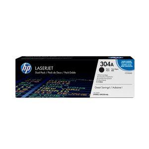 Pack-de-2-cartuchos-de-toner-HP-304A-Negro-Laserjet-Original--CC530AD--