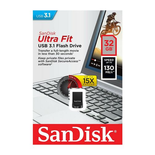 Memoria-Usb-32-Gb-Sandisk-Ultra-Fit-Flash-Drrive-