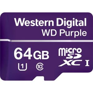 Memoria-WD-Purple-Micro-SD-64GB