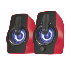 Parlantes-Trust-Gemi-2.0-Usb-12W-Iluminacion-LED-RGB-Rojo