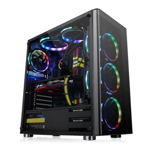 Chasis-Thermaltake-V200-Vidrio-Temp-mas-tres-Fan-RGB-mas-Fuente-600w-80plus