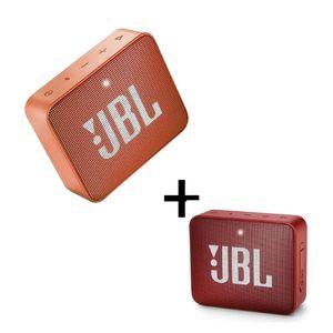 Combo-Parlante-Bluetooth-JBL-Go2-Rojo---Go2-Naranja